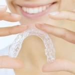 Şeffaf Plak Aparey iel eğri diş düzeltilmesi